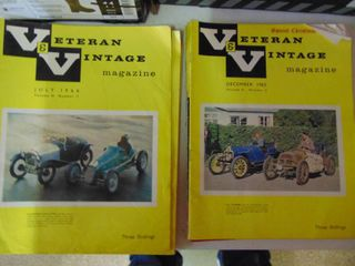 Veteran and Vintage Magazines
