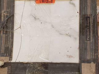 Premium ceramic tile 12 4 x 12 4 white 21 ctn