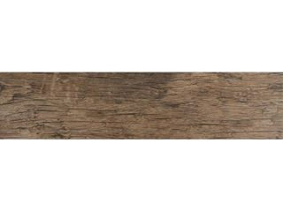 MS International Redwood Natural 24  x 6  Porcelain Glazed Floor and Wall Tile in Glazed Textured