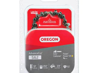 Oregon S62 18 Inch Semi Chisel Chain Saw Chain Fits Craftsman  Homelite  Poulan