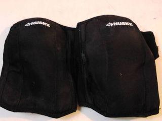 Husky velcro knee pads