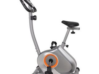 GYM of Fitness FN98002B Upright Magnetic Exercise Bike   Silver  Retail 228 49