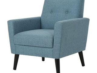 Sienna Mid Century Fabric Club Chair by Christopher Knight Home  Retail 209 49