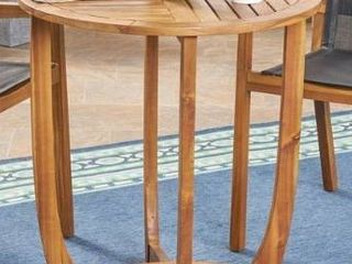 Marcello Outdoor Acacia Wood Dining Table only Christopher Knight Home  Retail 307 49