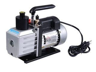 HomCom Single Stage 7 CFM Rotary Vane Vacuum Pump   Black Silver  Retail 134 99