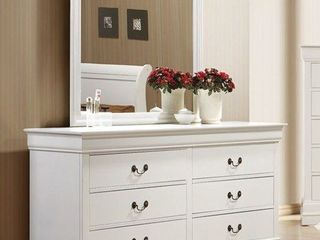 Coaster Furniture louis Philippe White Wood Dresser there no Mirror