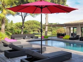9ft pole Umbrella with carry case