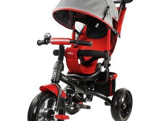 Evezo Kailin 4 in 1 Stroller Trike with Full Canopy