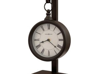 Howard Miller loman Contemporary  Transitional  Vintage  and Old World Style Mantel Clock  Reloj del Estante