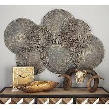 Strick & Bolton Buri Metallic Iron Wall Decor- Retail:$194.49