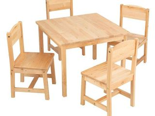 KidKraft Farmhouse 5 piece Table and Chairs Set  Retail 174 99