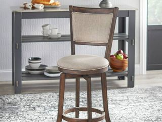 Simple living French Country 22 inch Counter Height Swivel Bar Stool  Retail 136 49