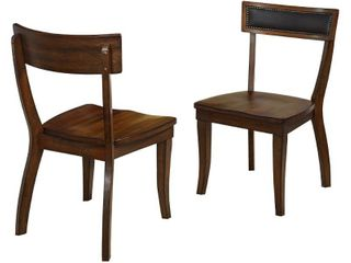 Simple living Heston Dining Chairs  Set of 2  Retail 183 49