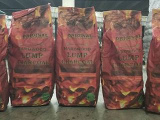 5 Bags Premium Chef Grade Hardwood Lump Charcoal reg $59.96 / bag