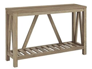 The Gray Barn Paradise Hill A frame Console Table  Retail 227 49