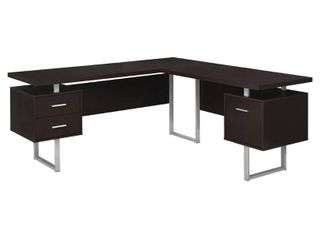 Carbon loft Brandenberger Cappuccino left or Right Facing Computer Desk  Retail 459 49