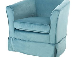 Cecilia Velvet Swivel Club Chair by Christopher Knight Home  Retail 226 99