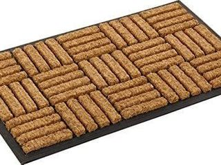 18x30in Kempf Coco Fiber In laid Doormat Retail   37 99