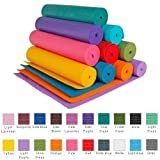 YogaAccessories  TM  1 4  Extra Thick High Density Yoga Mat  Phthalate Free    Slate Blue