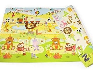 Babylynn baby play mat kids play mat infant play mat foam mat floor mat play mat non toxic play mat waterproof large play mat Creeping mat playpen mat activity mat  l  BirthdayParty