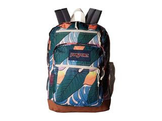 Jansport Cool Student Backpack Jungle Static One Size Used