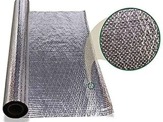 1000sqft Diamond Radiant Barrier Solar Attic Foil Refective Insulation 4x250 by AES Retail   79 88
