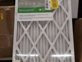 6 Pack Air FilterBuy MERV 8 Silver 16x25x1 Actual 15 5x24 5x0 75