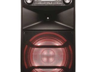 ION Audio   Block Party Ultra Bluetooth Karaoke System   Black