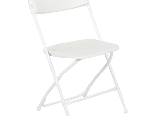 Flash Furniture  10 Pack  HERCUlES Series Premium Plastic Folding Chair  White
