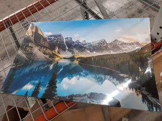 Mountain Range Canvas Wall Art