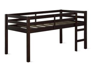 Dorel living Milton Twin Junior loft Bed in Espresso