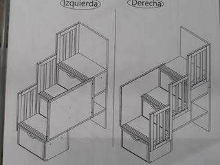 Staircase and Banister for Bunkbed