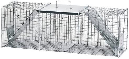 Havahart 1045 live Animal Two Door Raccoon  Stray Cat  Opossum  and Groundhog Cage Trap