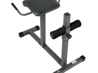 Marcy Roman Chair Hyper Extension Home Workout Multipurpose Bench