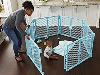 Toddleroo By North States 8759 Superyard Indoor outdoor Play Yard Baby Gate