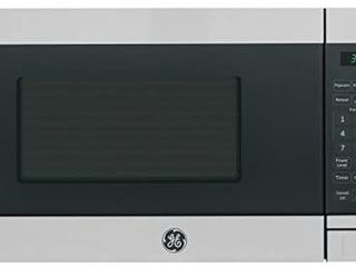 GE Appliances JEM3072SHSS GE 0 7 Cu  Ft  Capacity Countertop Microwave Oven  Stainless Steel