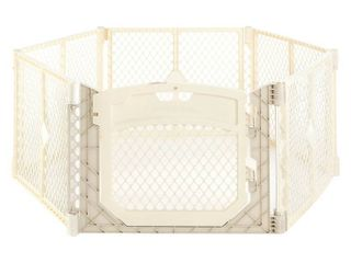 Toddleroo By North States Superyard Ultimate 6 Panel Freestanding Gate