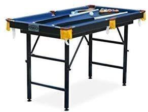 Rack leo Folding 4 foot Billiard pool Table