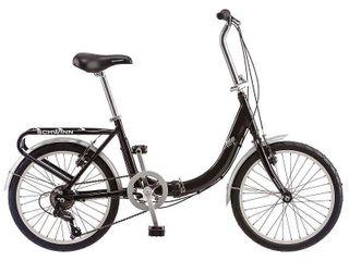 Schwinn 20 Inch loop Folding Bike  Black