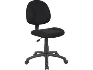 Boss Fabric Task Chair  Black  B315 BK
