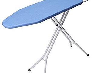 king do way 30  l x 13 W x 33 H Opensize 4 leg Tabletop Ironing Board with Iron Rest Simple Design Blue