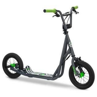 Mongoose Kid s Air Tire Scooter  Grey