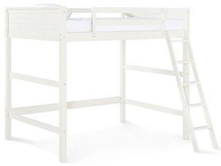Dorel living Denver Full loft Bed in White