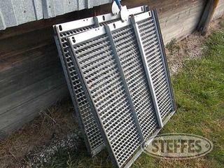 2 Top sieves for John Deere 9600 combine 1 jpg