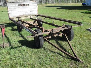 4 Wheel Wagon & Steel Frame