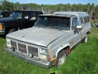 1985 GMC 6.2 Diesel, Auto, 2WD, Running