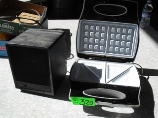 Sandwich Maker & Ceramic Heater