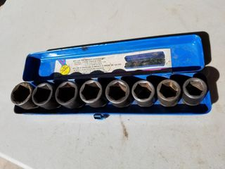 8pc 3/4inch Impact Socket Set