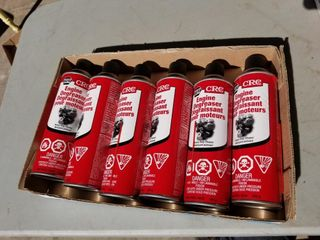 New, 6 Cans CRC Engine Degreaser