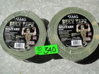 NEW Military Camo Duct Tape - 2 Rolls
